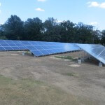 43 kW ground mount commercial system