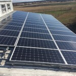 7.41 kW commercial roof mount system for farm