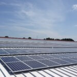 43 kW roof mount commercial system